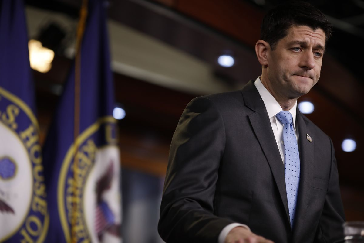 House Speaker Paul Ryan Holds His Weekly News Conference