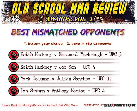 OSMMA Awards ballot 9 mismatched