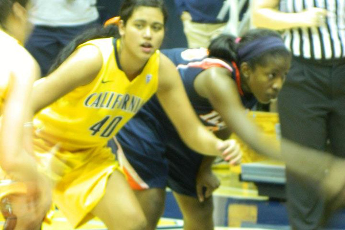 Justine Hartman broke out with a huge performance against Illinois. <em>(blurry photo credit: Norcalnick)</em>