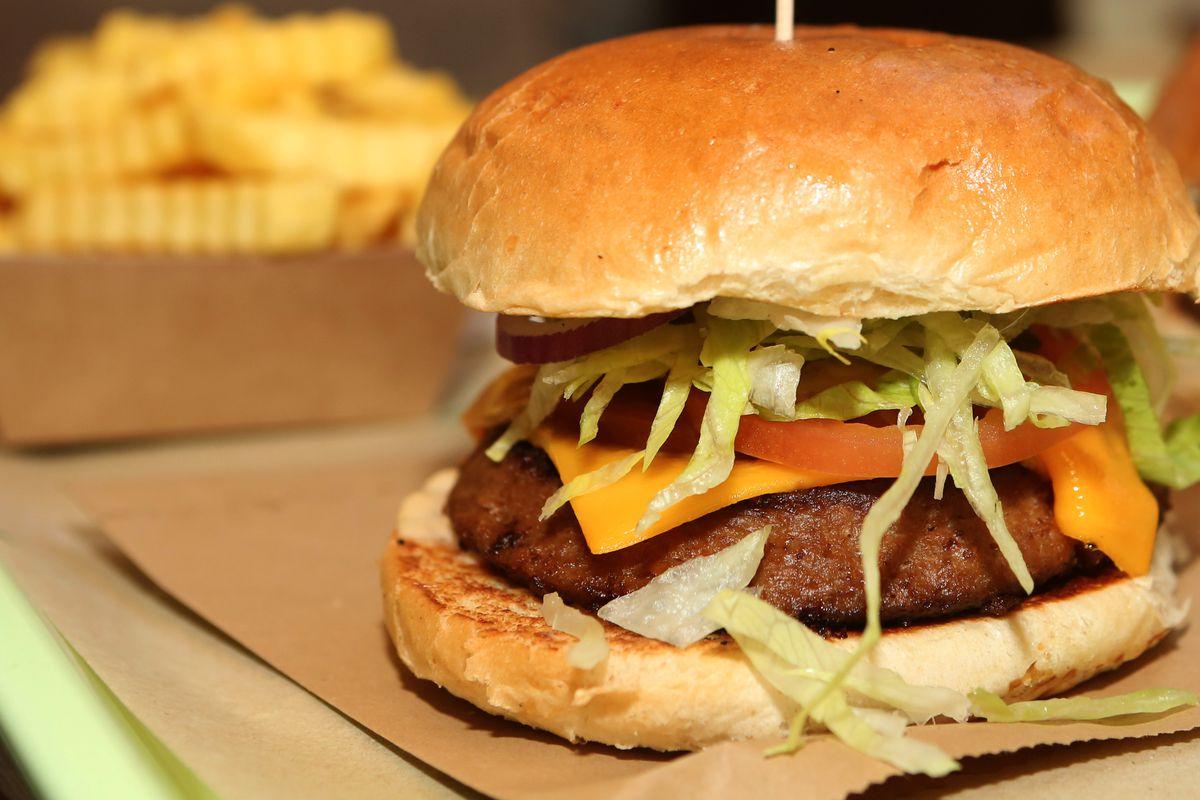 Meatless burgers gain popularity
