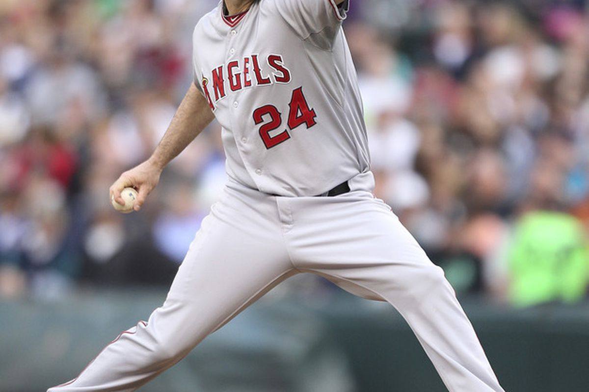 Jerry Dipoto's first big move as interim general manager of the Arizona Diamondbacks was to trade Dan Haren to the Los Angeles Angels. Now, Dipoto and Haren are together once again.