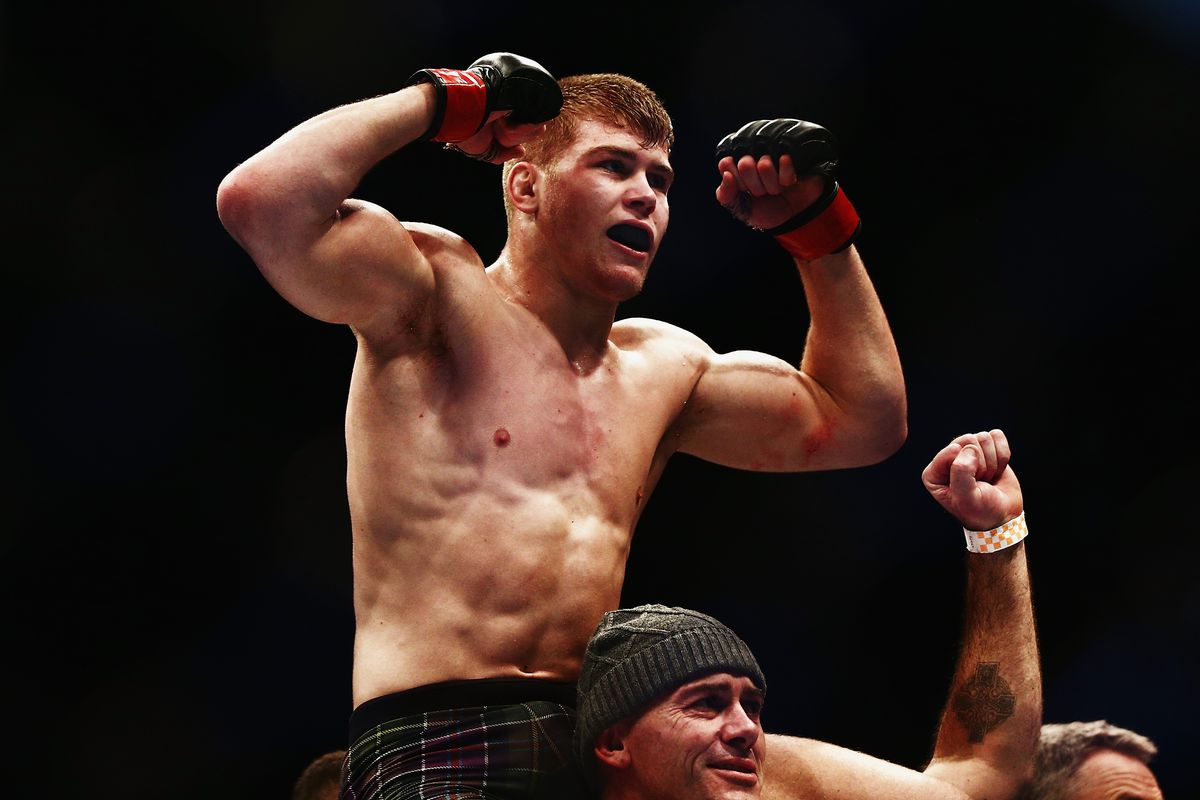 Jake Matthews trained for UFC fights in small shed in his backyard