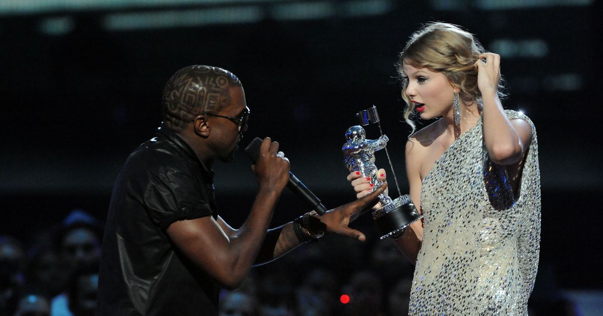 How the Taylor Swift-Kanye West VMAs scandal became a perfect American morality tale