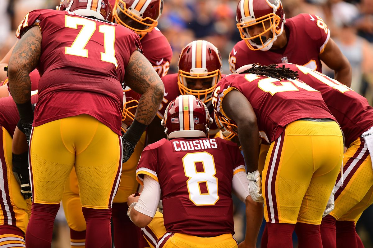 Redskins quarterback Kirk Cousins named NFC offensive player of the week