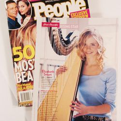 Elizabeth Smart was named by People Magazine as one of the 50 most beautiful people Apr 29, 2005.