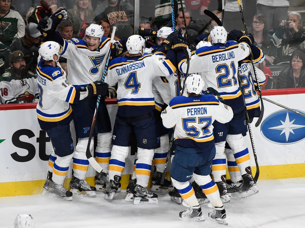 St Louis Blues v Minnesota Wild - Game Five