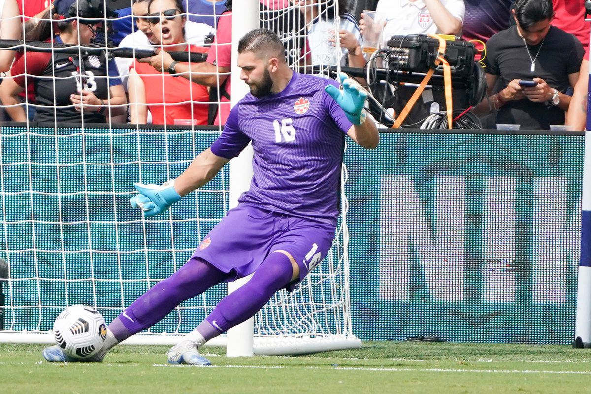 Soccer: CONCACAF Gold Cup Soccer-USA at Canada