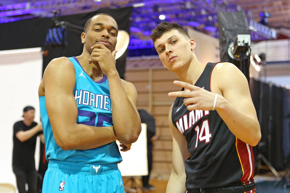Tyler Herro vs PJ Washington highlights Heat vs Hornets in NBA Preseason