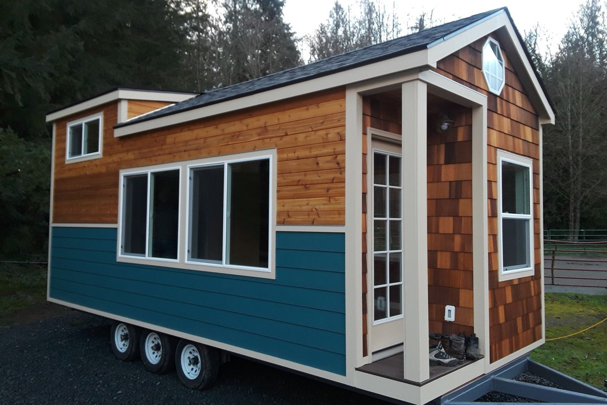 A Tiny Home By Carriage Houses Northwest On Display At The Seattle Show Courtesy Of
