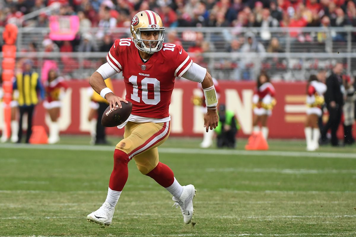 best service ad00a 76713 Jimmy Garoppolo can't stop winning. What makes the 49ers QB ...