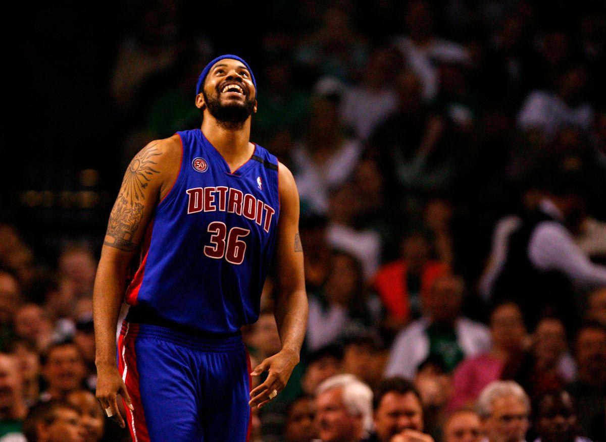 Detroit Pistons v Boston Celtics, Game 2