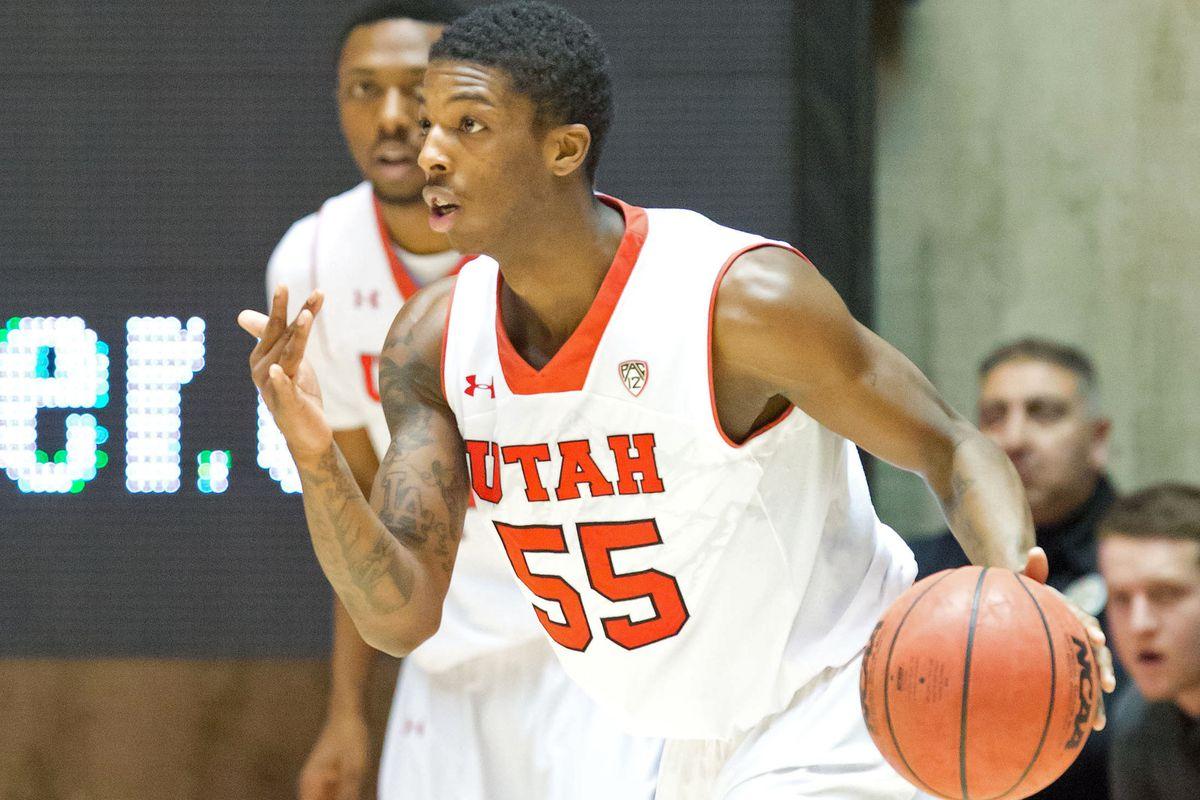 In the 2014-2015 preseason, Utah guards Delon Wright and Dakarai Tucker will face 18 teams that made post season play.