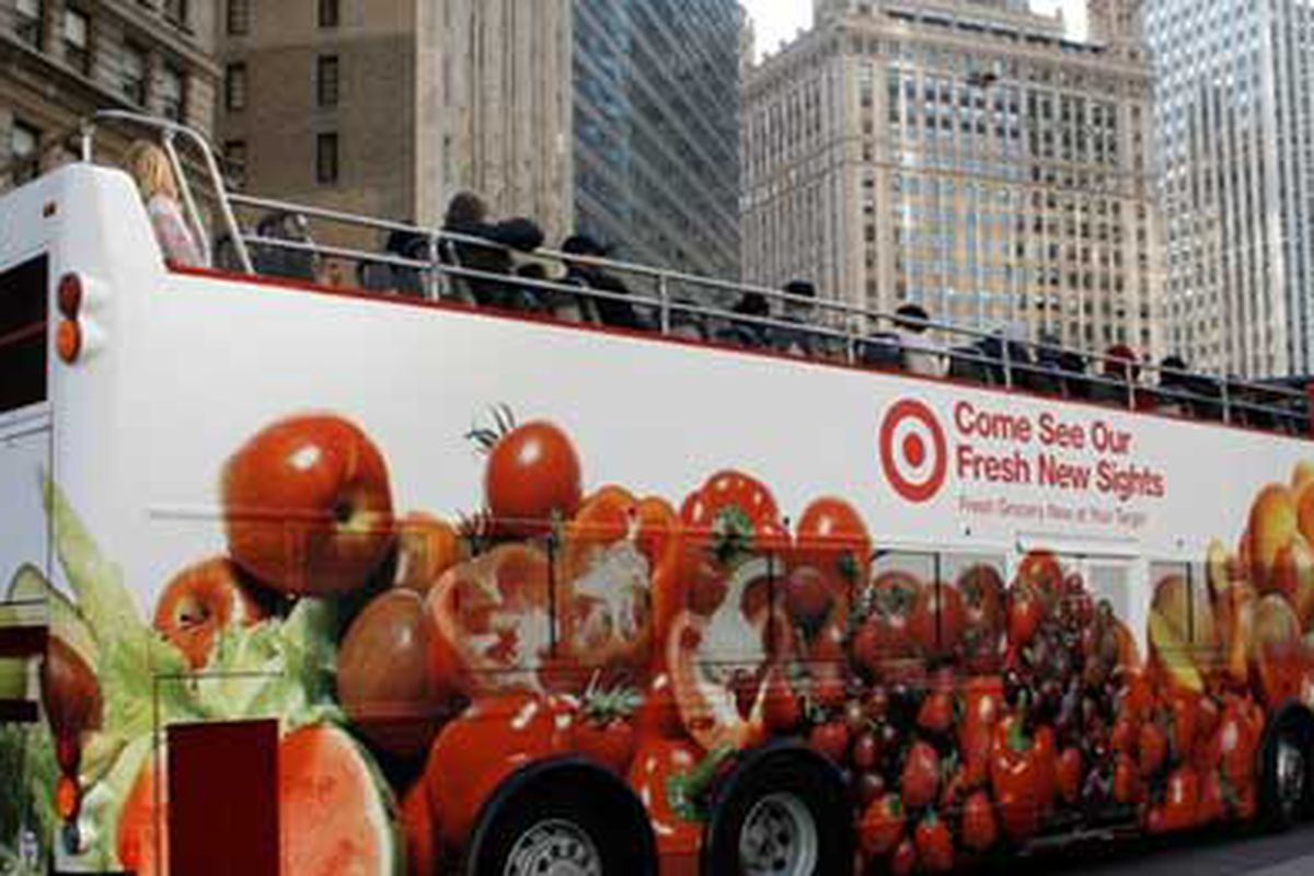 Target bus hits Chicago