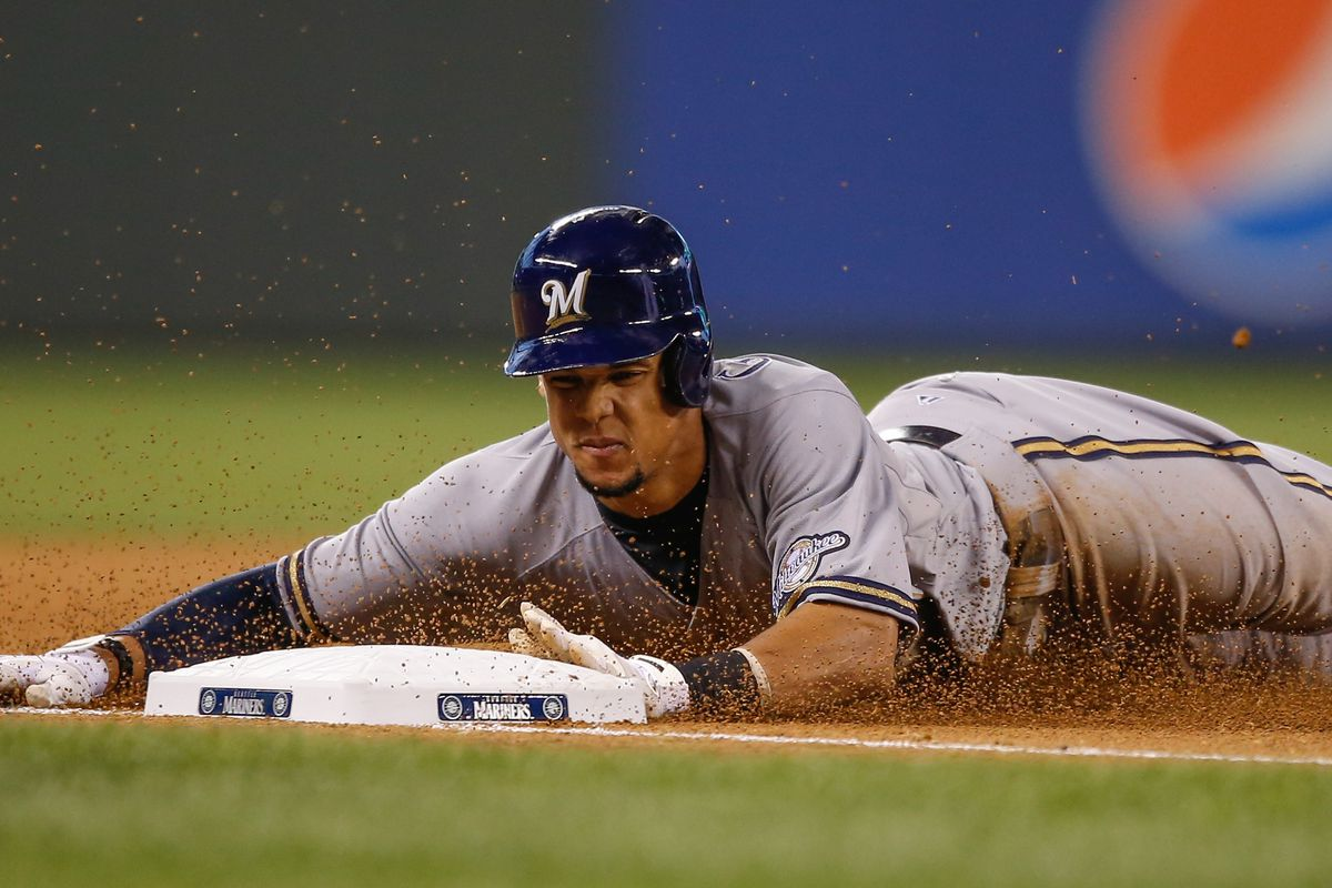 Carlos Gomez adding value on the base paths