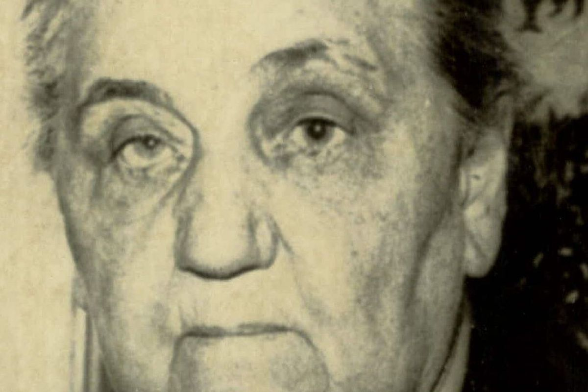 SPEC. req. no. 31507 NXP1449083-12/2/75- UNDATED: Jane Addams, winner of the Nobel Peace Prige in 1931, is shown in undated photo.