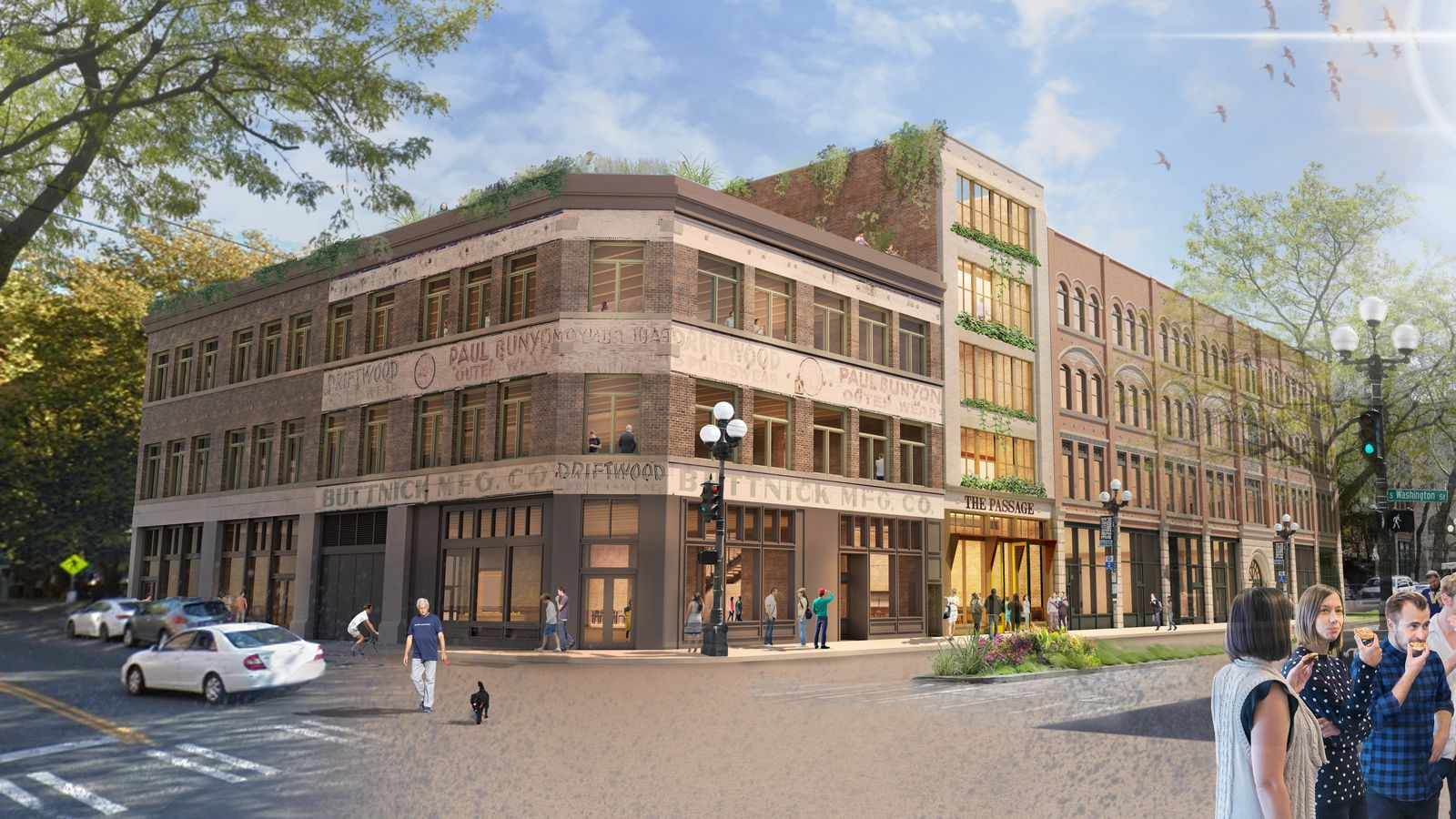 The Plan To Rehabilitate Three Historic Pioneer Square