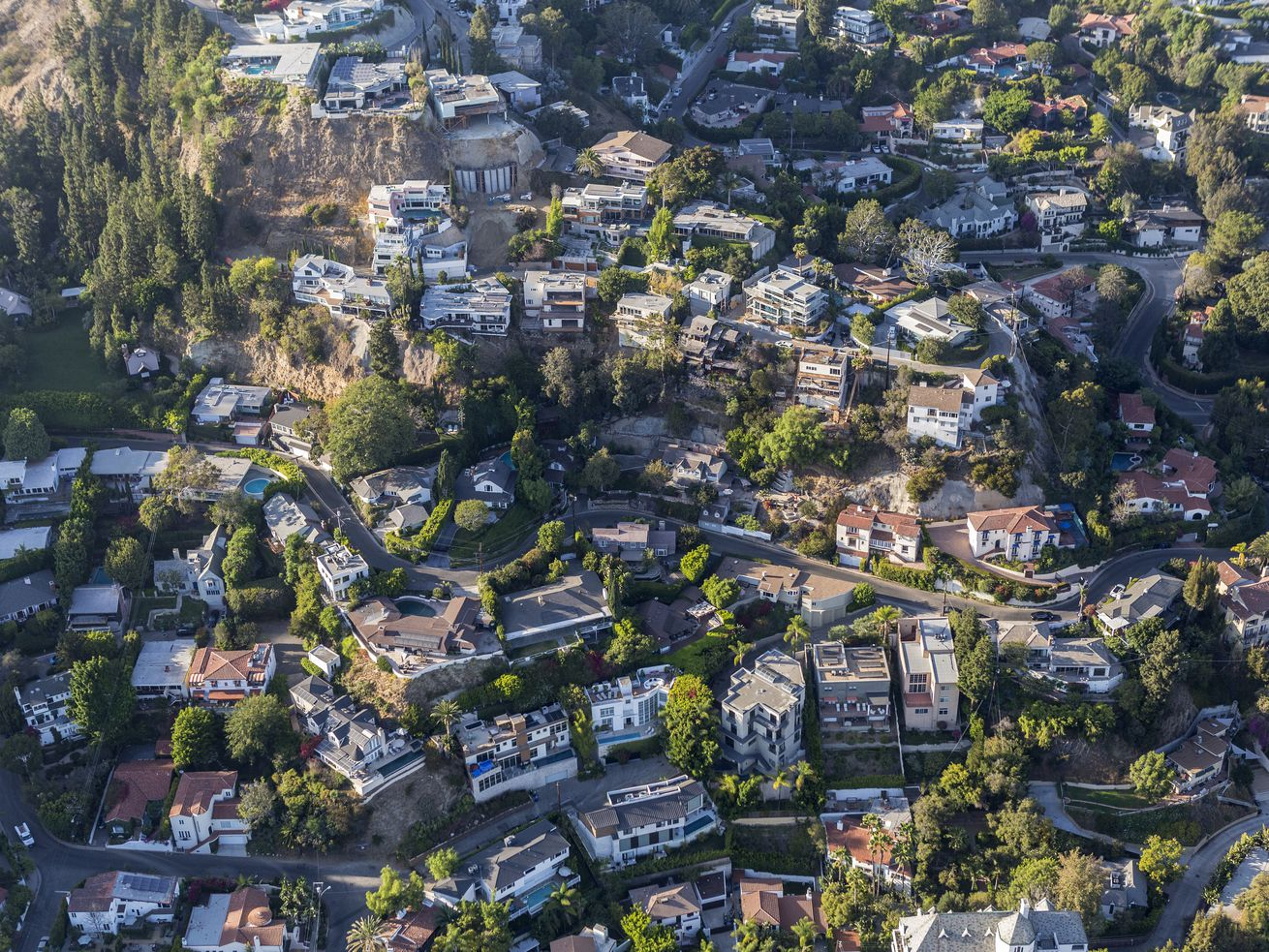 Roughly 28 percent of LA's single-family homes are in hillside areas.