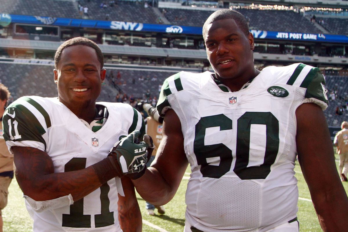 """""""The hardware I'm going to bring home for my punt return is bigger than D'Brickashaw Ferguson,"""" said WR Jeremy Kerley"""