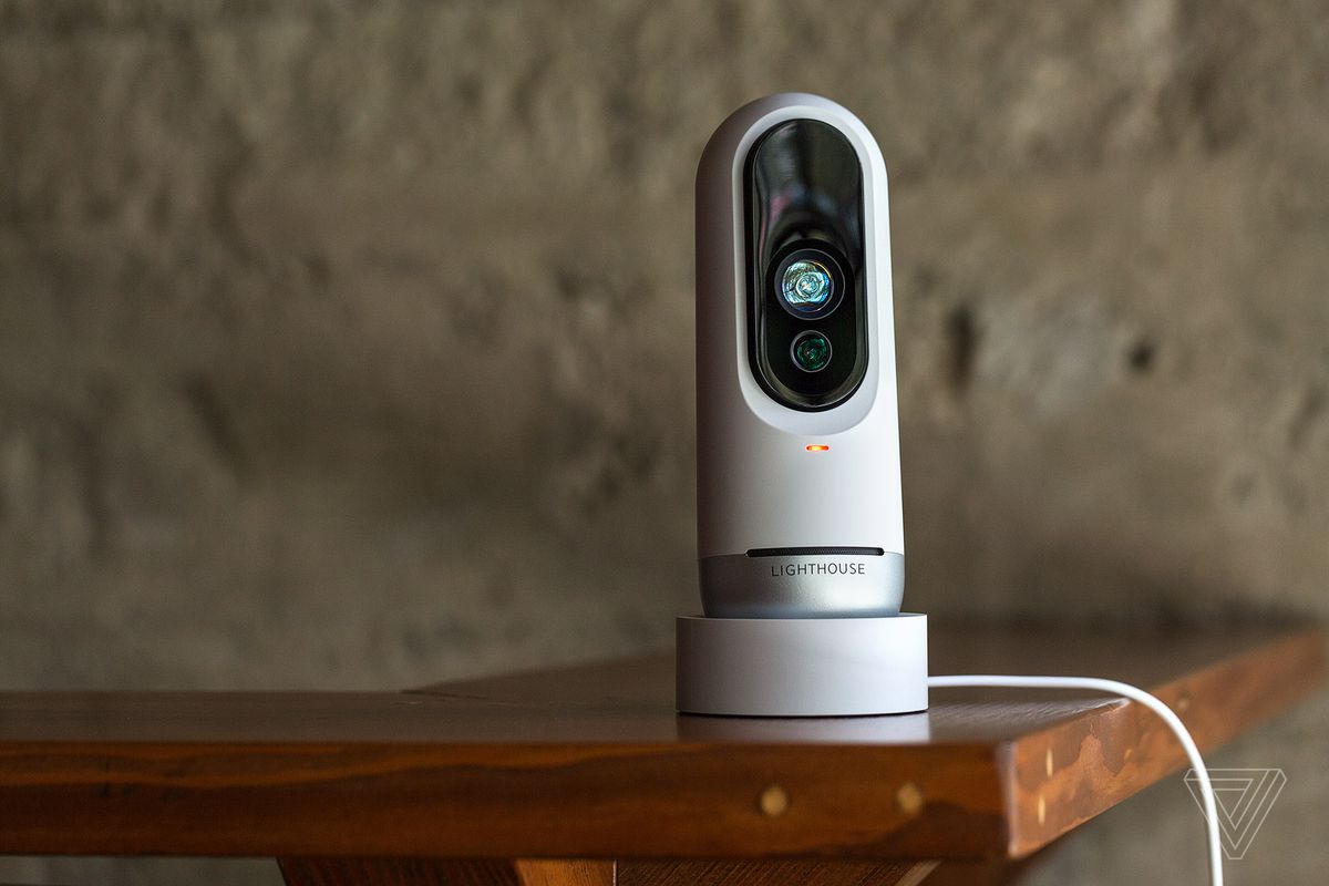 Lighthouse Ais Security Camera Knows Who You Are And When