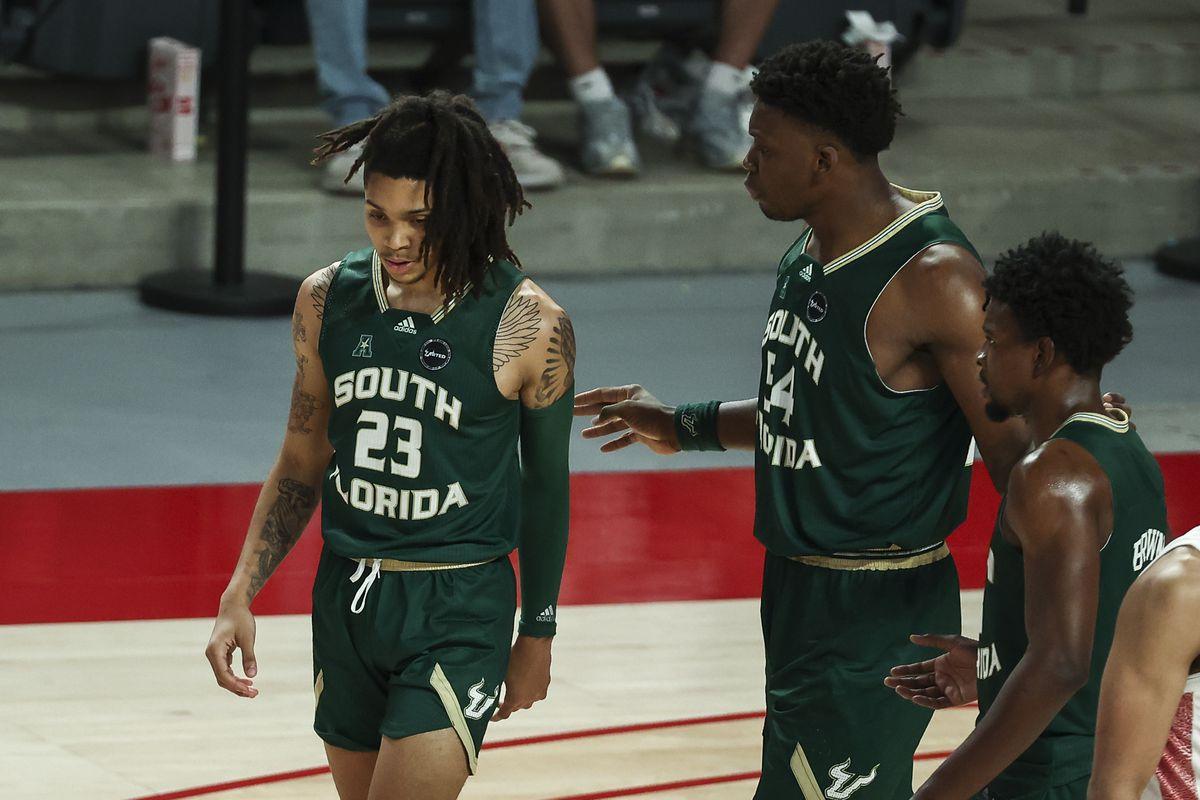 NCAA Basketball: South Florida at Houston