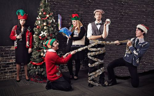 """The Second City returns to Metropolis Performing Arts Centre with their holiday sketch comedy revue """"Holidazed,"""" Dec. 28-31, 2016.   SUPPLIED PHOTO"""