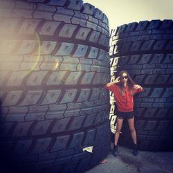 """""""Outsized tires, super flattering duh"""""""