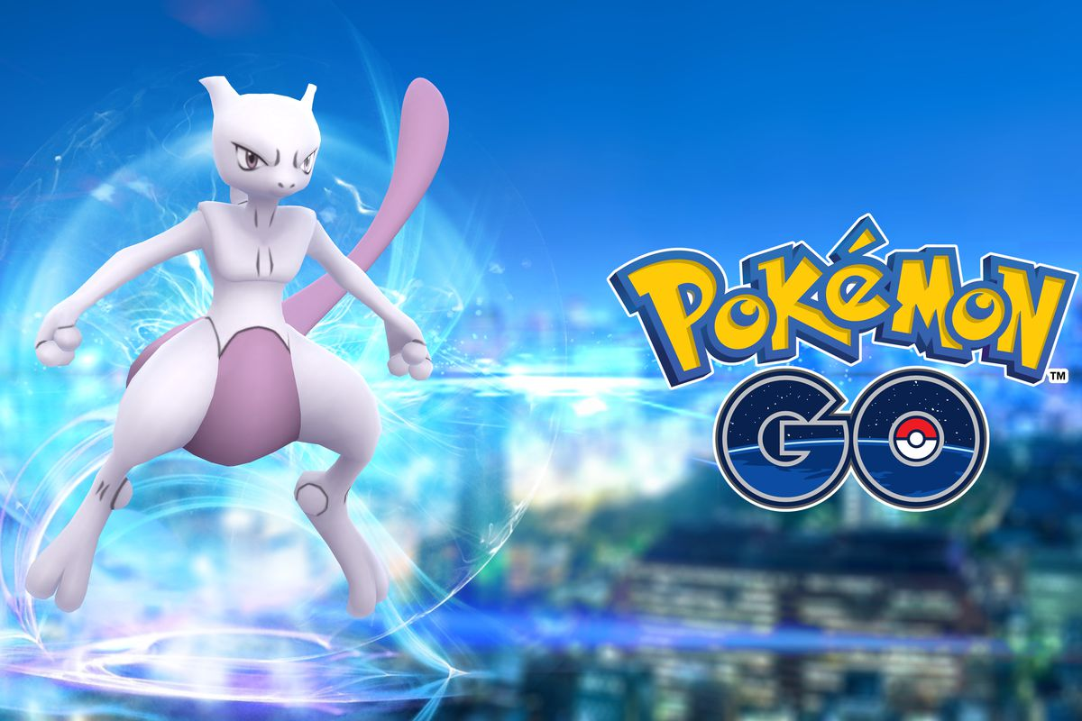 Legendary pokémon Mewtwo appeared for the first time to 'Pokémon GO' players