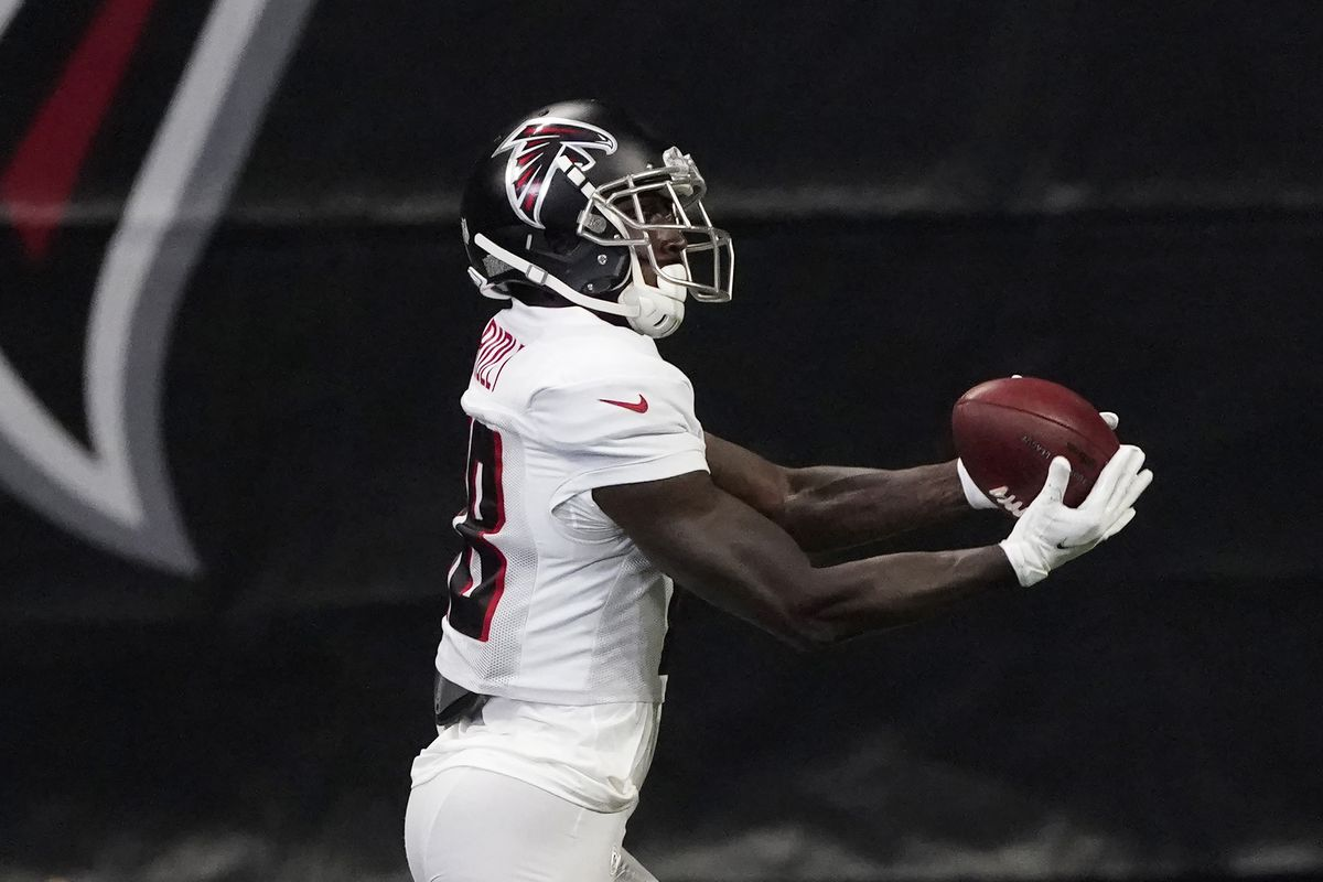 Calvin Ridley Toasts Dallas Secondary For A 22 Yard Touchdown The Falcoholic