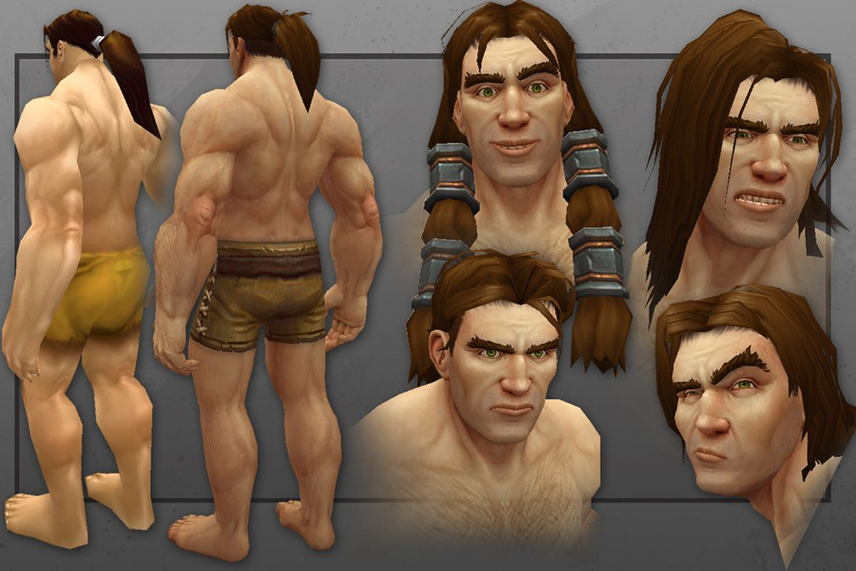 World Of Warcrafts New Human Male Corrects The Models More Glaring Problems - Polygon-1221