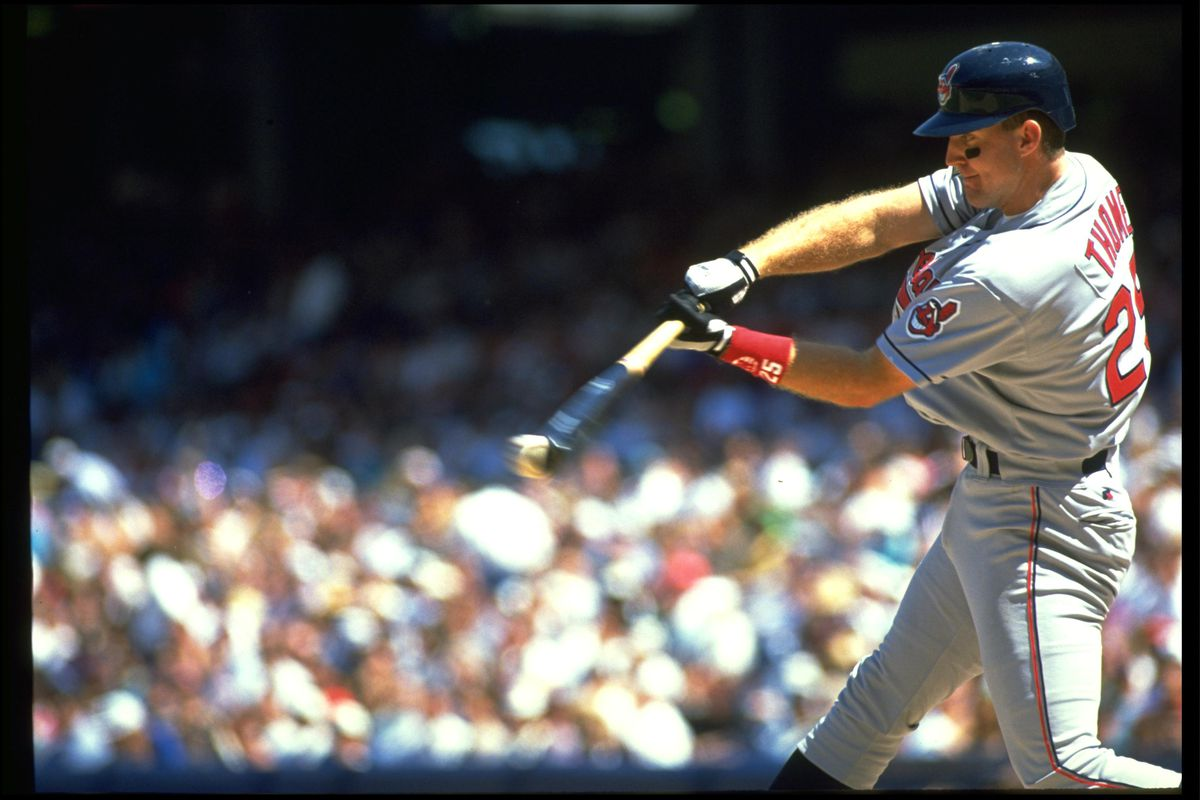JIM THOME INDIANS