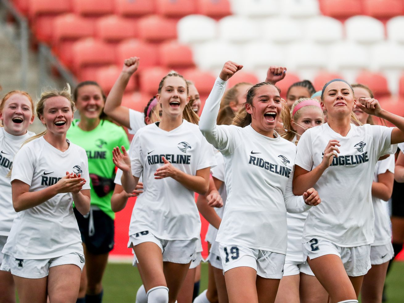 High school soccer: Adeline Fiefia's late winner lifts poised Ridgeline to 4A state championship
