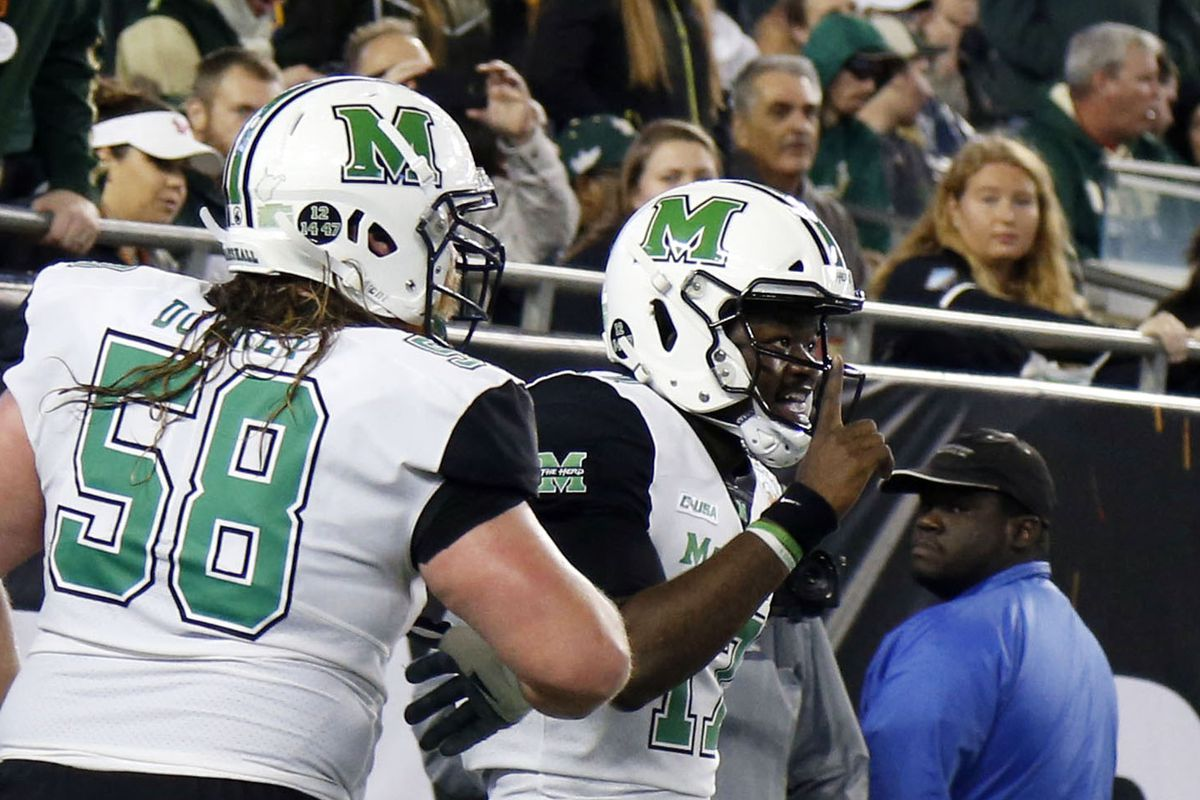 MU has 11 televised football games | Marshall Sports ...