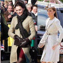 Kate Middleton wearing Katherine Hooker designs