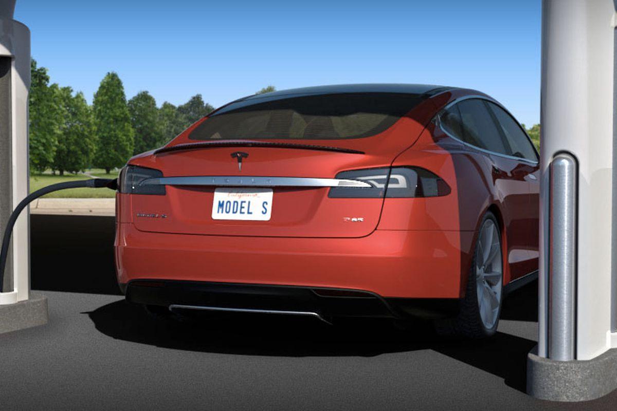 tesla supercharger model s