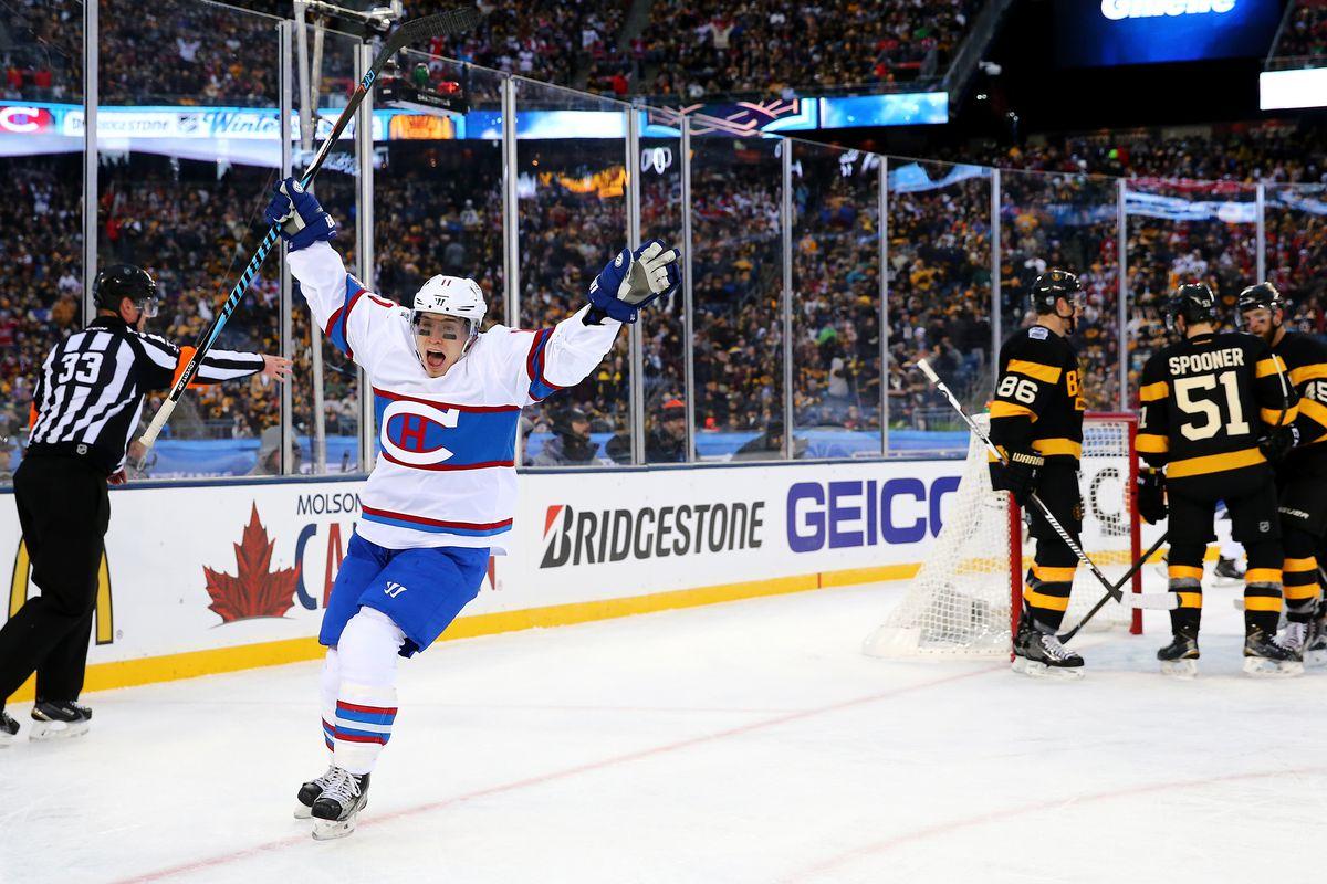 2016 Bridgestone NHL Winter Classic - Montreal Canadiens v Boston Bruins