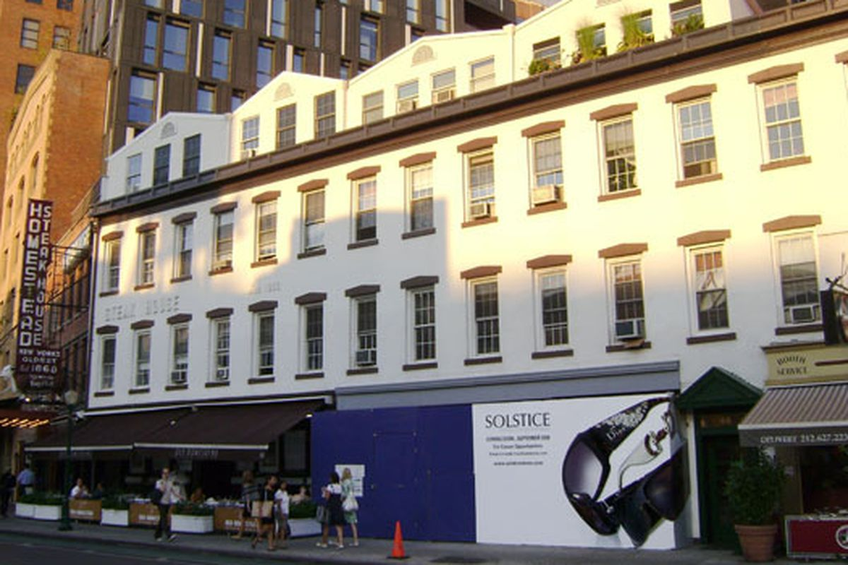 Solstice before its grand opening back in 2008