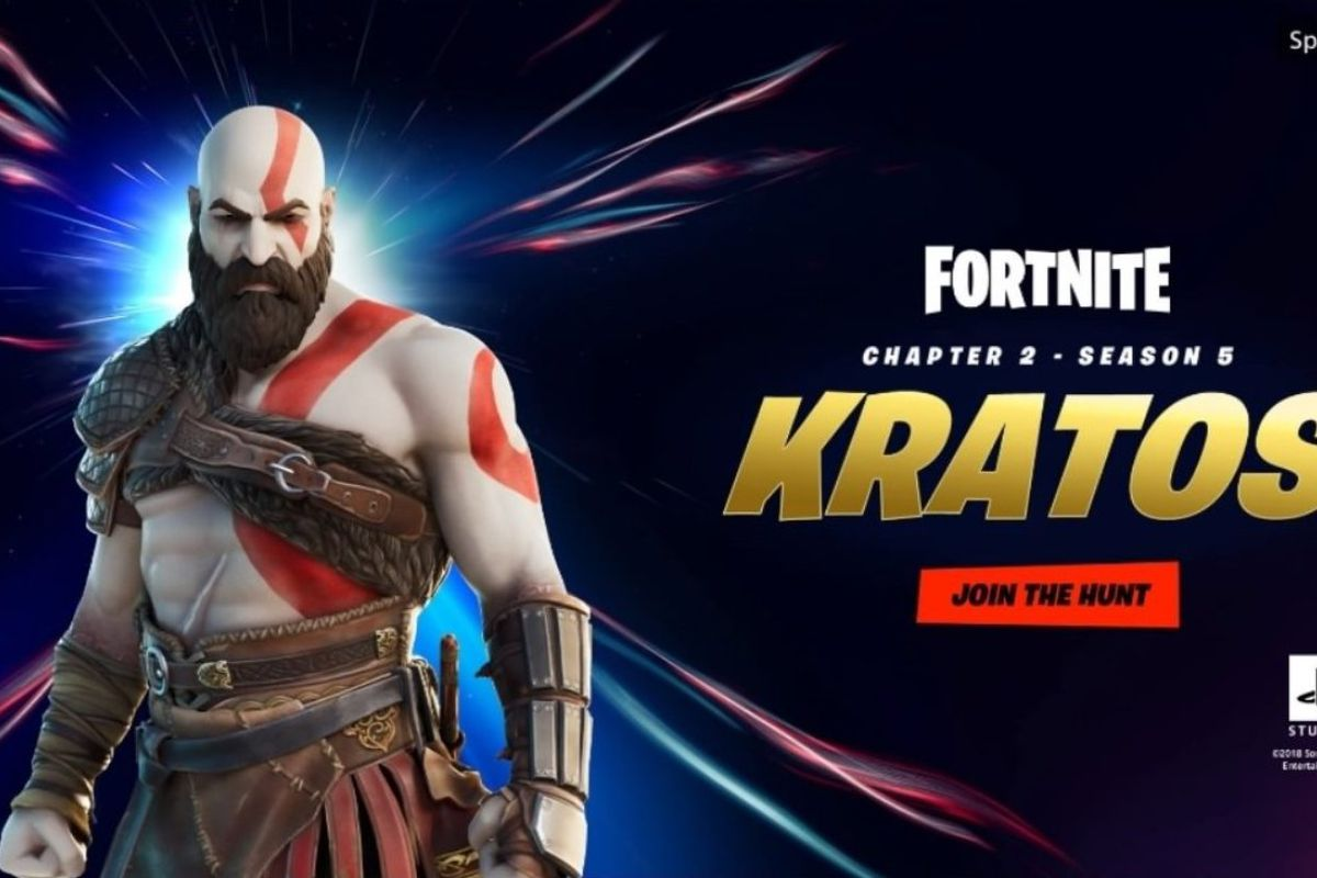 Fortnite Not Showing Up God Of War S Kratos Is Coming To Battle His Way Through The Fortnite Universe The Verge
