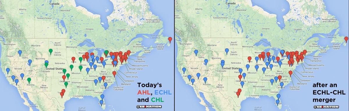 minor league hockey map 2