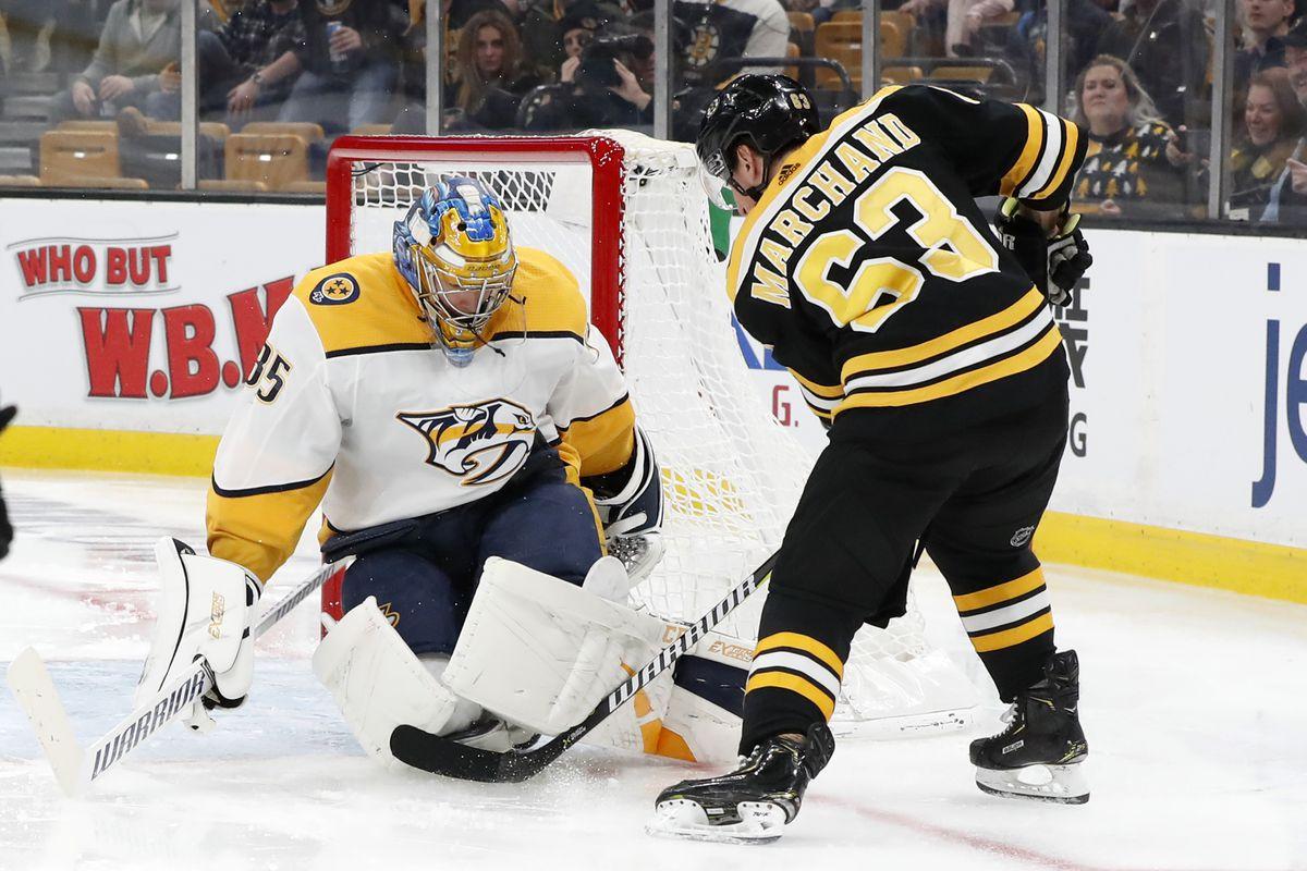 NHL: DEC 22 Predators at Bruins