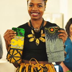 """<a href=""""http://www.fanmdjanm.com""""><b>Fanm Djanm</b></a>, which means """"Strong Woman"""" in Haiti, is a line of stylish headwraps created by Haitian lifestyle blogger <b>Paola Mathe</b>. All her designs boast colorful prints and patterns, and are made for the"""