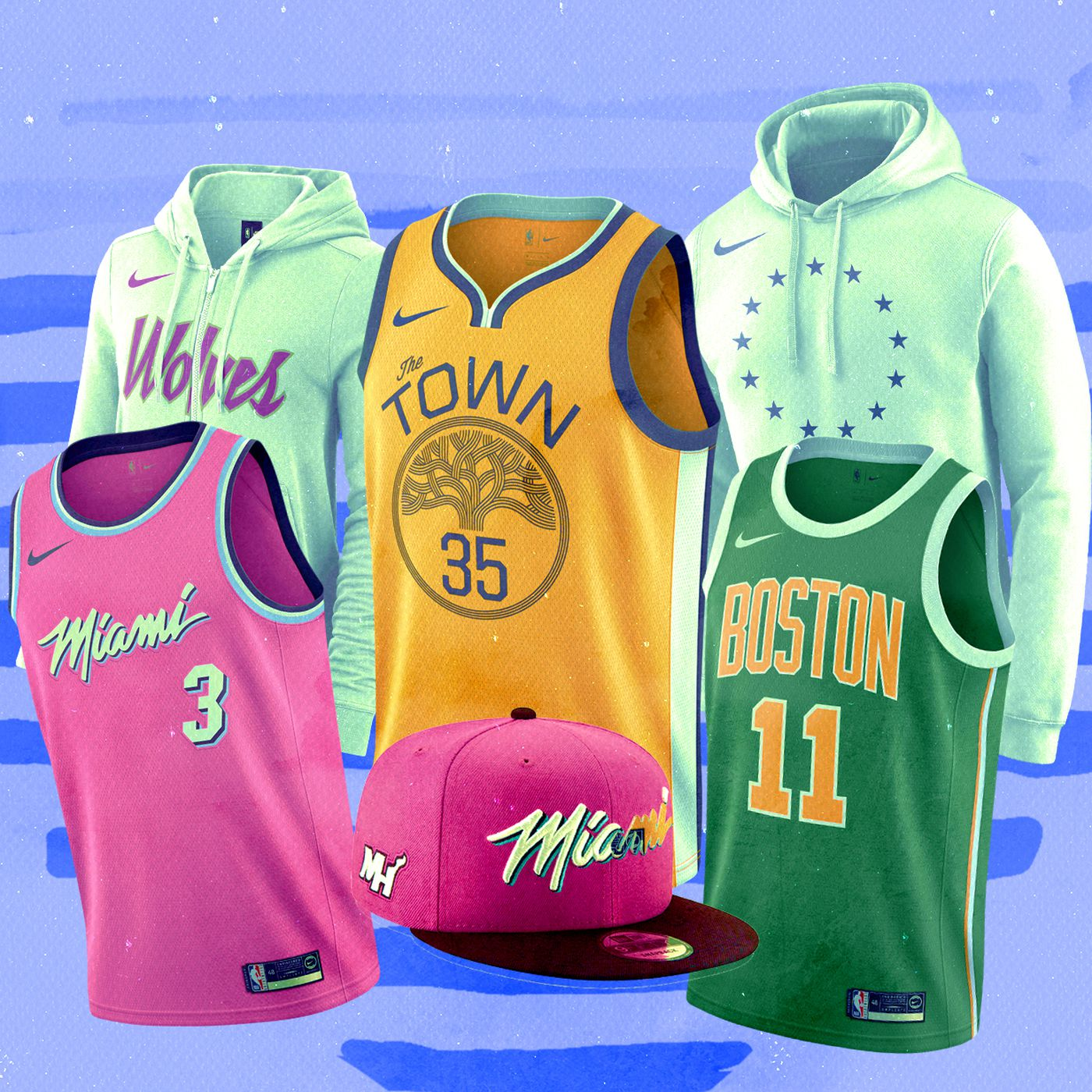 Flecha Volcán Taxi  NBA Earned Edition 2018: The jerseys and merch you'll want to buy -  SBNation.com