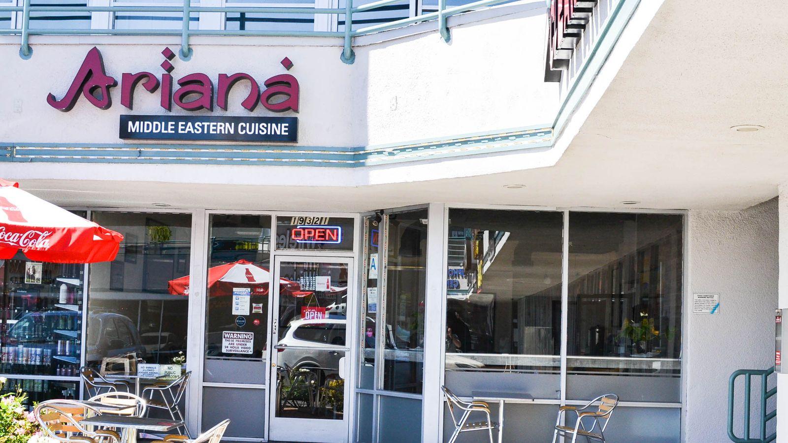 Ariana serves glorious afghan cuisine in tarzana eater la for Aryana afghan cuisine