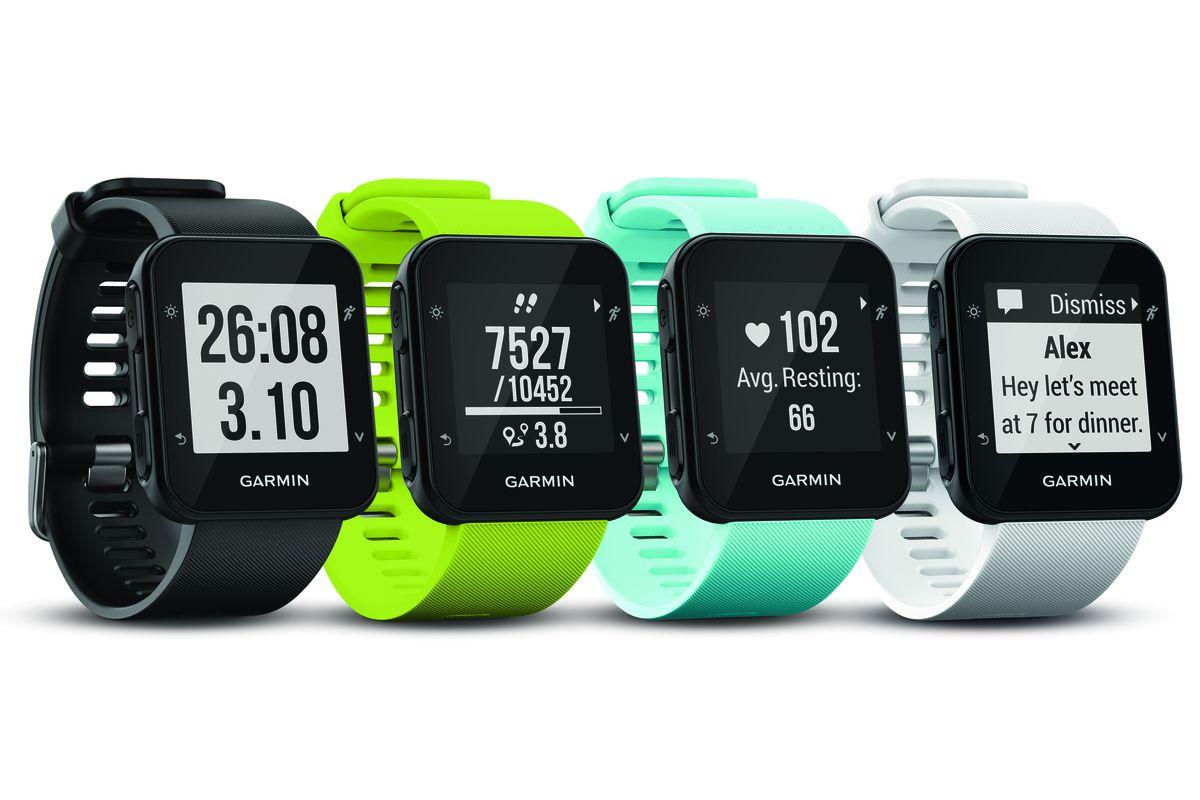 Garmin S New Forerunner 35 Watch Has Wrist Based Heart Rate Sensors