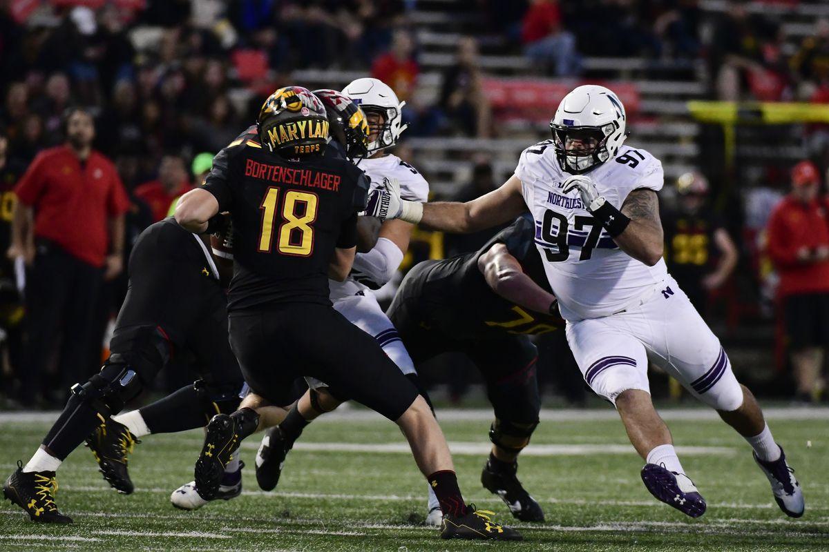 NCAA Football: Northwestern at Maryland