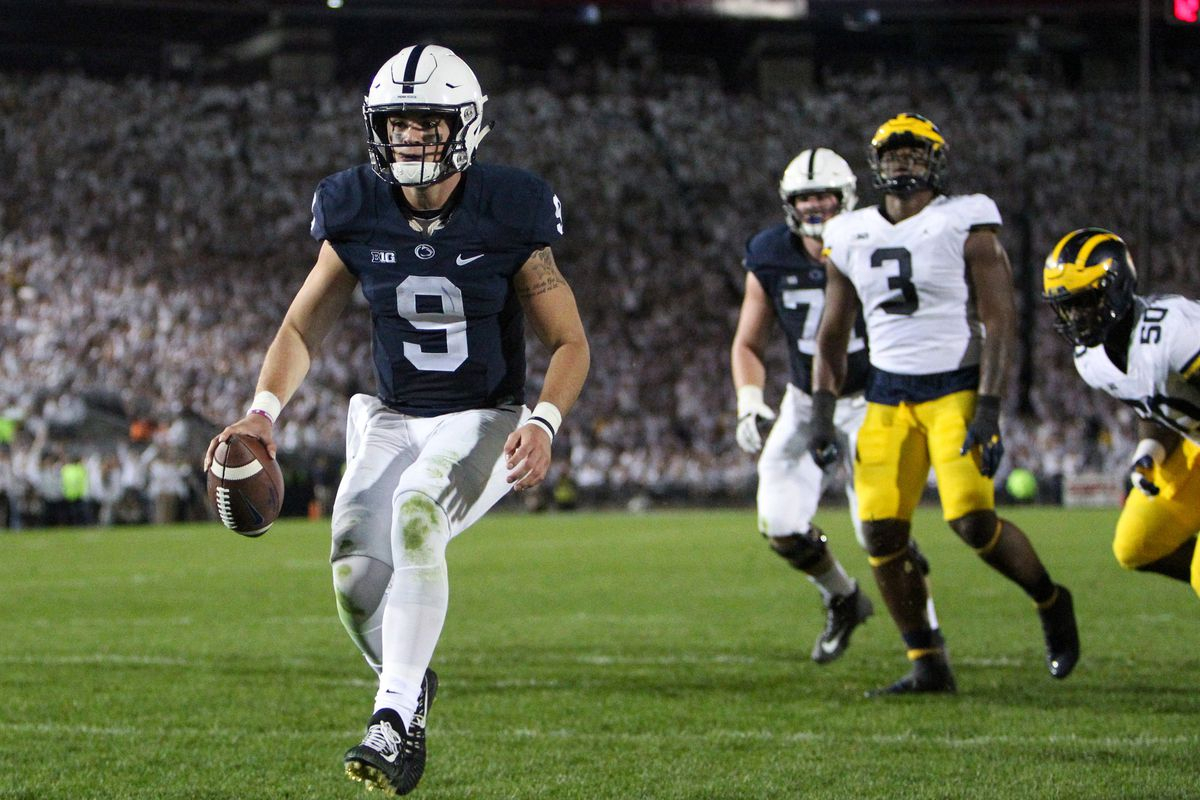What Are Penn State Quarterback Trace McSorley's Odds to Win