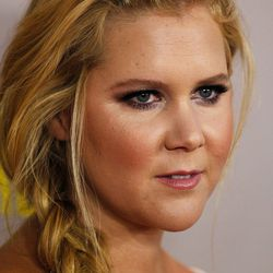 Amy Schumer at the Sydney Premiere of <i>Trainwreck</i> in Halston Heritage