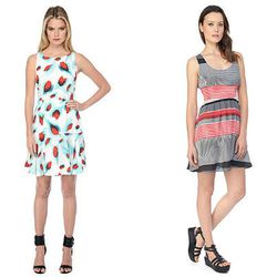 """<b>Susie Kostaras, <a href=""""http://boston.racked.com"""">Racked Boston</a> editor:</b> """"For trend-minded and affordable dresses I often turn to <strong>BB Dakota</strong> and <strong>MINKPINK</strong>. Both brands are flirty, colorful, and have a variety of"""