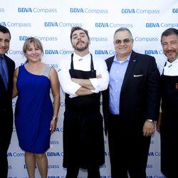 Chef with BBVA President