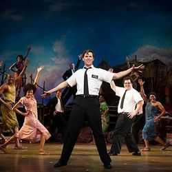 """The LDS Church has purchased ads in the playbill for """"The Book of Mormon"""" musical production in Los Angeles."""