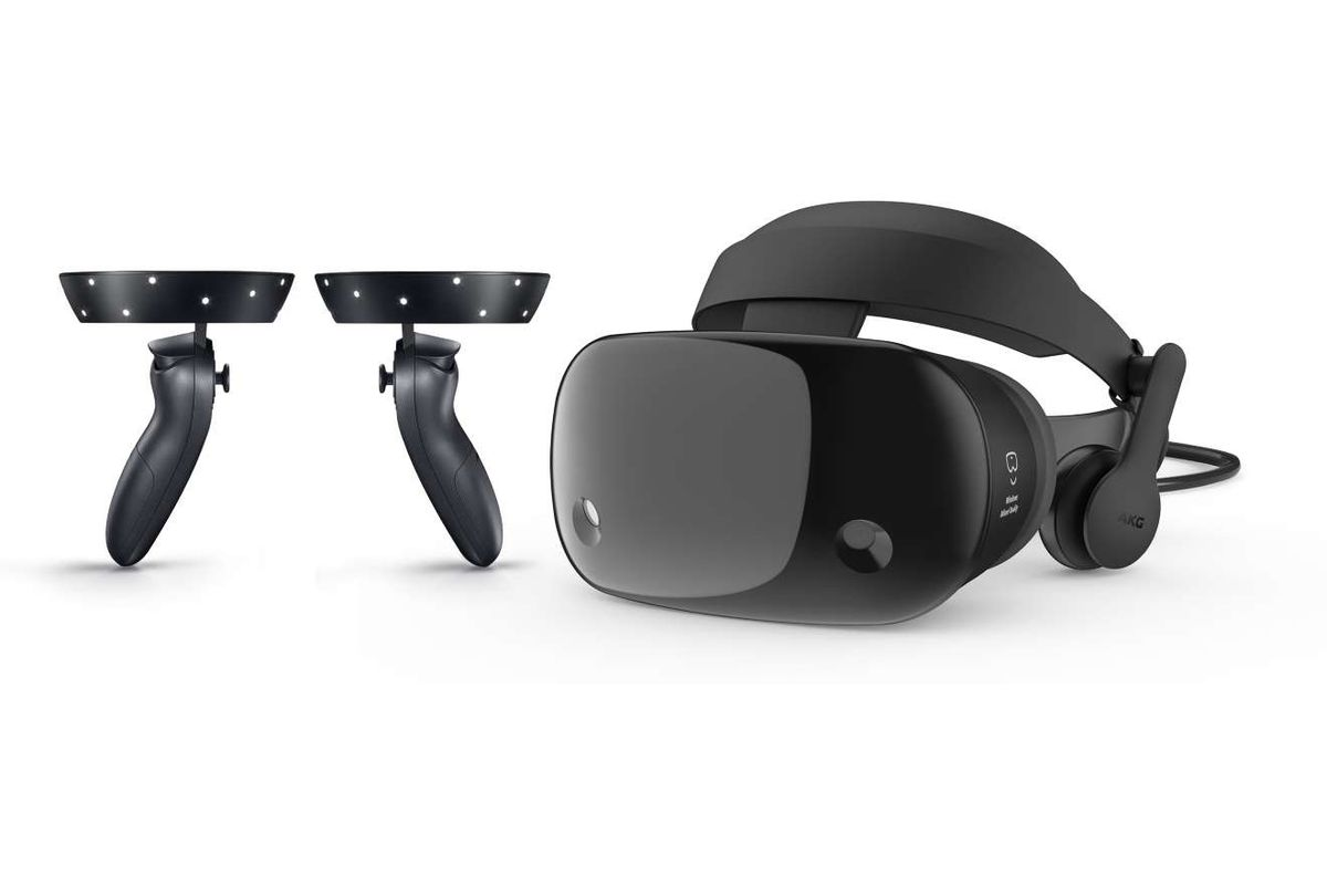 Samsung announces new Windows-based virtual-reality headset at Microsoft event